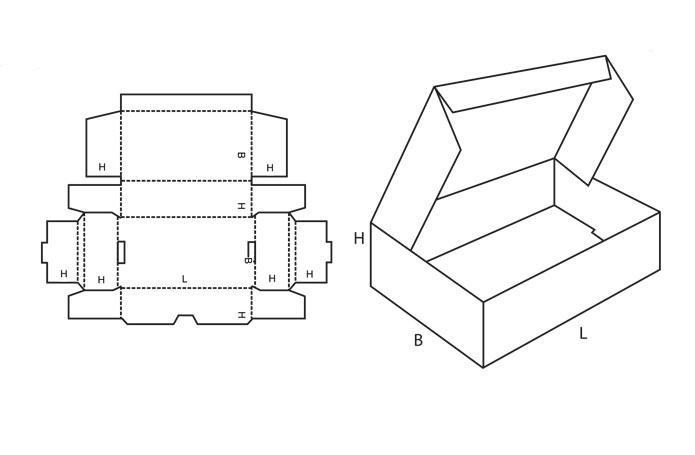 Как сделать коробку из картона своими руками схемы